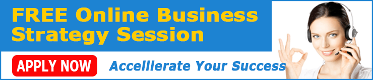 online business strategy sessions banner