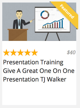 Presentation Training Give a Great One On One Presentation