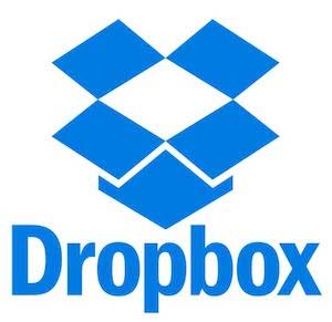 Dropbox file sharing logo