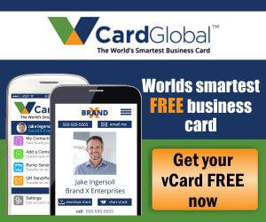 V Card Global logo