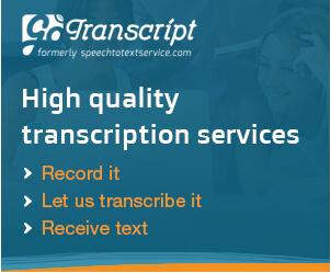 Go Transcript banner 300x250
