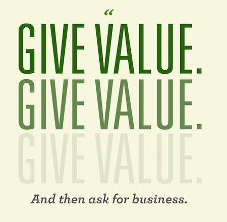 Give Value Give Value Give Value