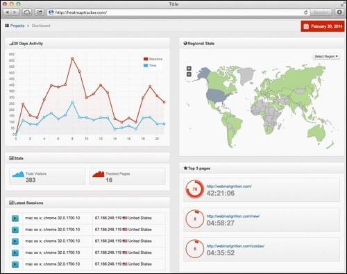 HeatMap Tracker Platform