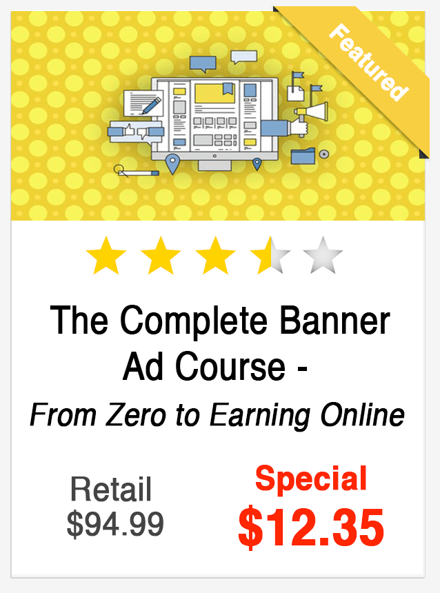 Complete Banner Ad Course
