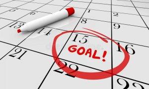 Accomplish Goal on Calendar