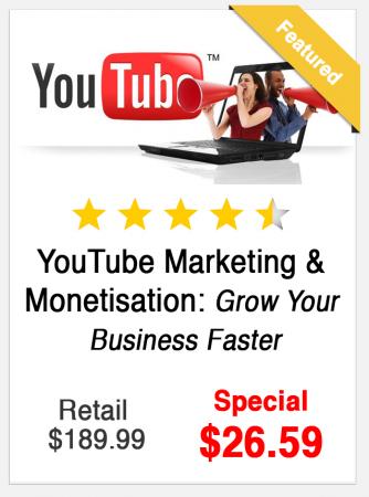 YouTube Marketing and Monetisation Course