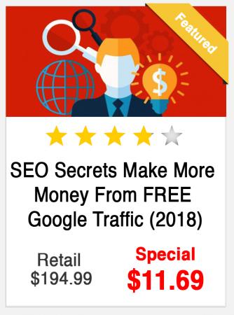SEO Secrets Make More Money from Free Google Traffic Course