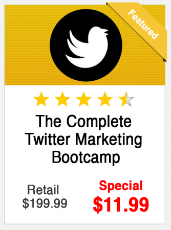 Twitter Marketing Bootcamp Course