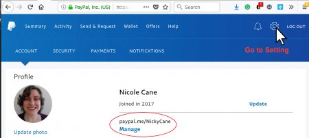 How To Find PayPal Me in Personal PayPal Account