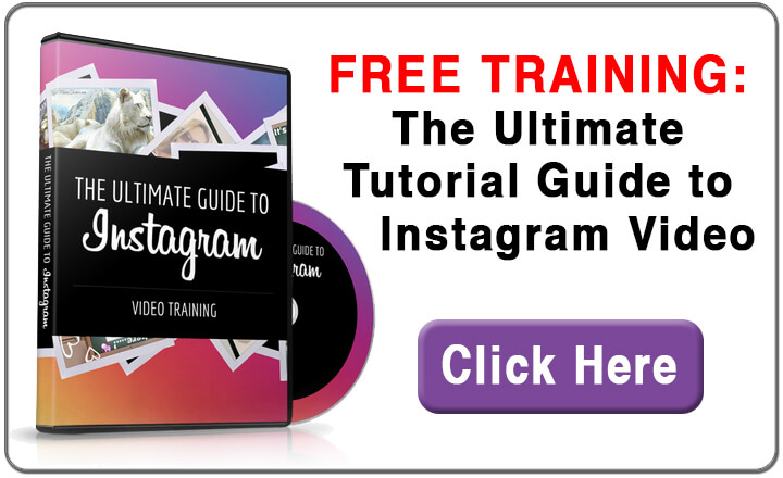 FREE Instagram Training Banner