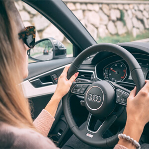 the steering wheel of life