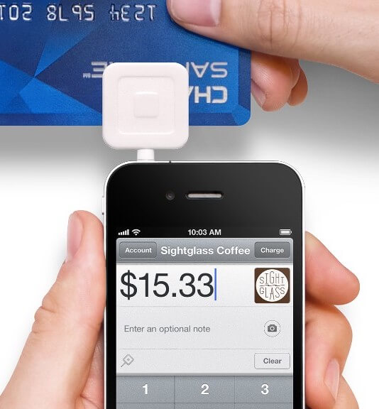 square credit card transaction