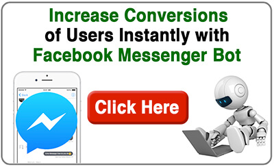 Increase Conversions with FB Messenger Bot