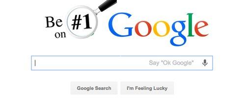 Be No. 1 on Google Rankings