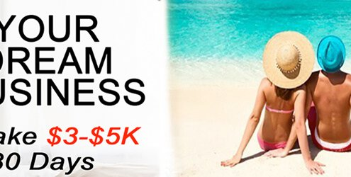 100% ROI 1st Sale with Turnkey Online Business & Get FREE Holiday!