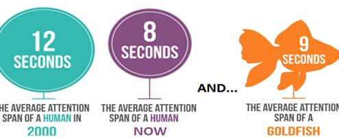 Destruction of Human Attention Span